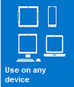 hosted emails can be used on any device